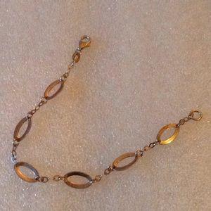 Vintage 925 link bracelet